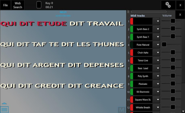 Winlive Pro Karaoke Mobile screenshot 13