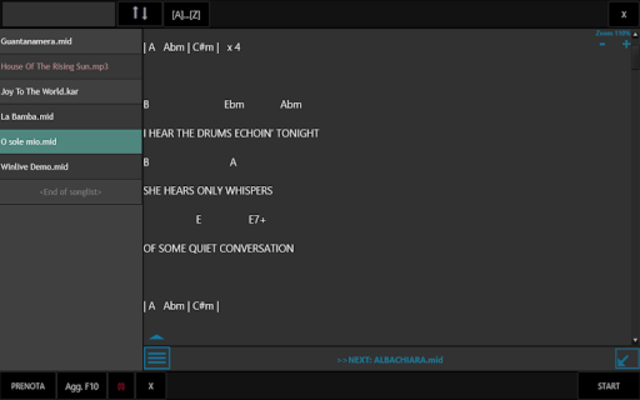 Winlive Pro Karaoke Mobile screenshot 16