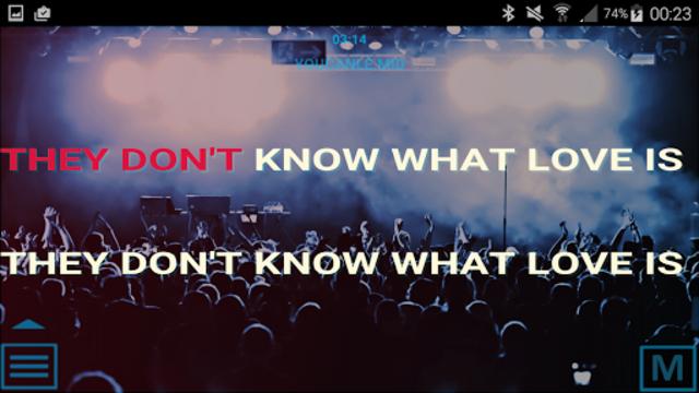 Winlive Pro Karaoke Mobile screenshot 23