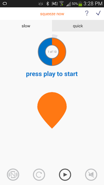 Squeezy: NHS Pelvic Floor App screenshot 2