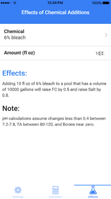The Pool Calculator screenshot 3