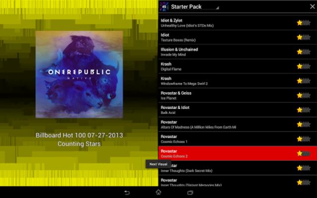 projectM Music Visualizer screenshot 12