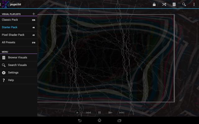 projectM Music Visualizer screenshot 22