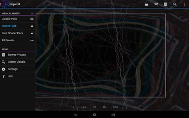 projectM Music Visualizer Pro screenshot 12