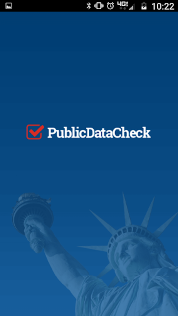 Public Data Check Mobile App screenshot 1