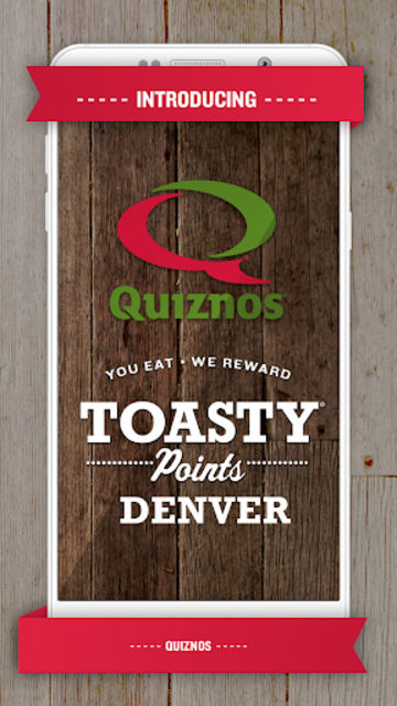 Quiznos Toasty Points screenshot 1