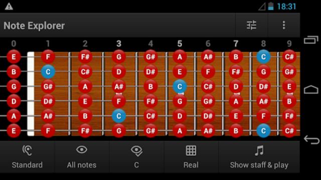 Guitar Note Trainer screenshot 1