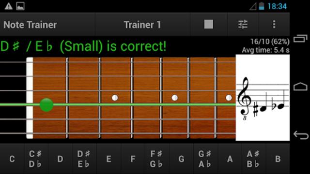 Guitar Note Trainer screenshot 3