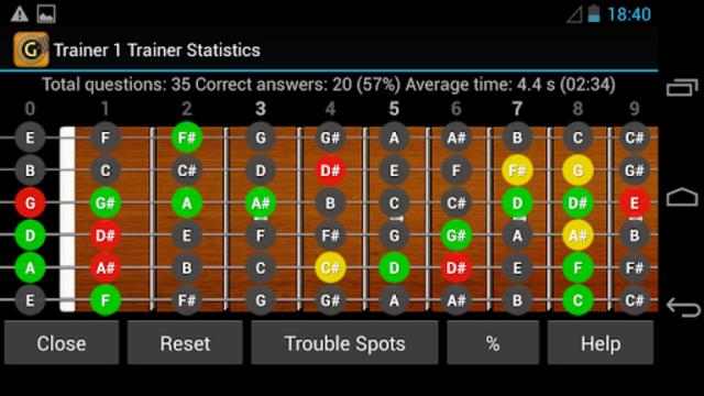 Guitar Note Trainer screenshot 6