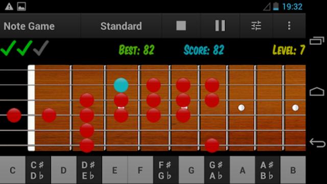 Guitar Note Trainer screenshot 7