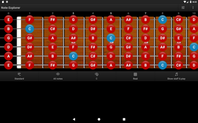 Guitar Note Trainer screenshot 10