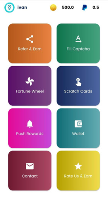 PushRewards - Earn Rewards and Gift Cards screenshot 2