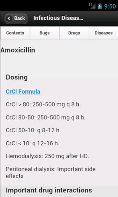Infectious Disease Compendium screenshot 1