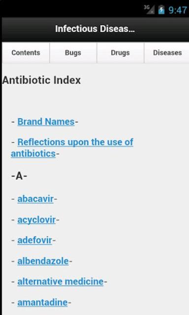 Infectious Disease Compendium screenshot 4