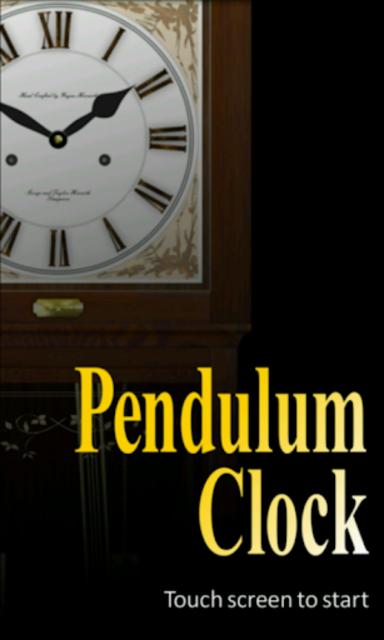 Pendulum Clock screenshot 5