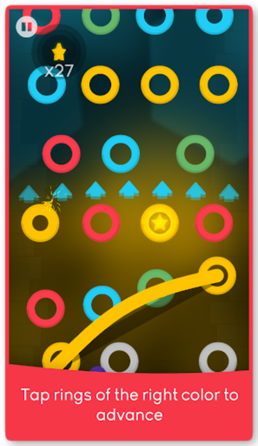 Wire Up: Swing the Magic Dancing Line and Level Up screenshot 1