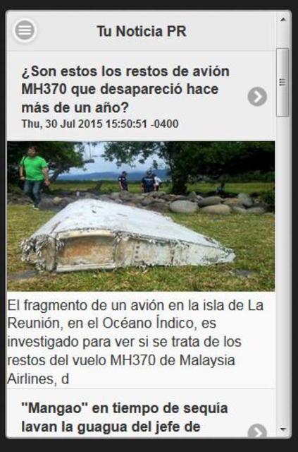 Tu Noticia PR screenshot 1