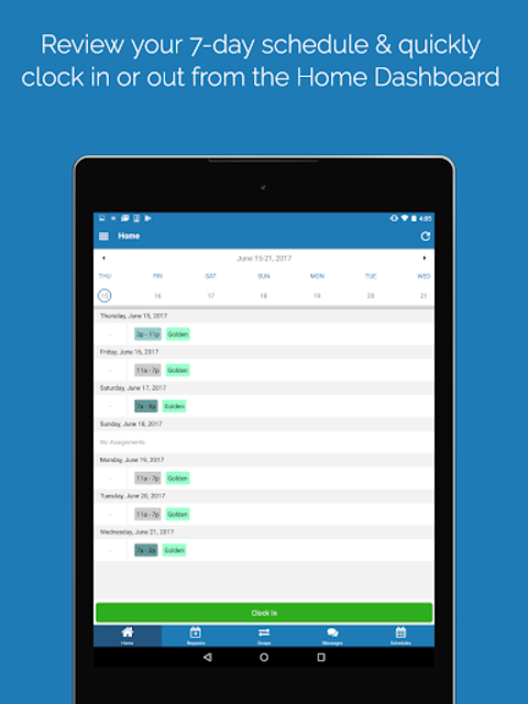 QGenda screenshot 8