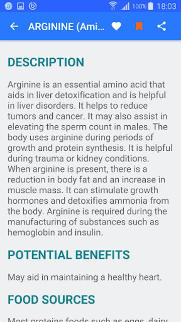 Vitamin & Minerals - Offline screenshot 3