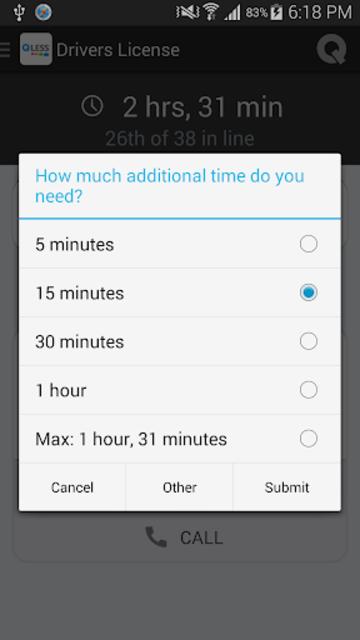 QLess - Queuing Software screenshot 6