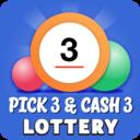Icon for Pick 3 & Cash 3 -  Lottery Results & Predictor