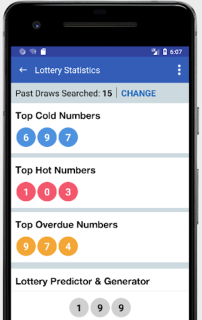 Pick 3 & Cash 3 -  Lottery Results & Predictor screenshot 2