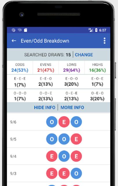 Pick 3 & Cash 3 -  Lottery Results & Predictor screenshot 3