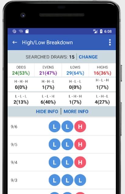 Pick 3 & Cash 3 -  Lottery Results & Predictor screenshot 4