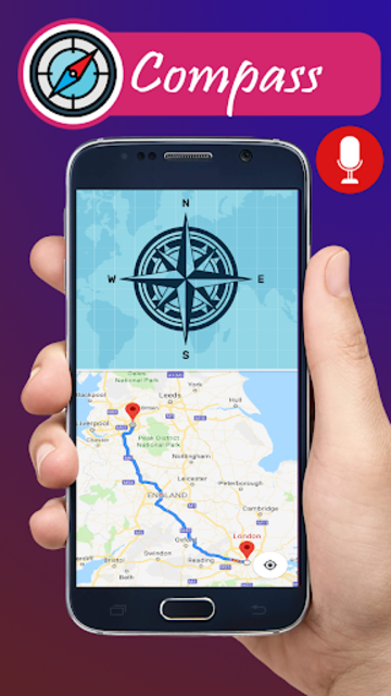 Voice GPS navigation, driving directions, map screenshot 15