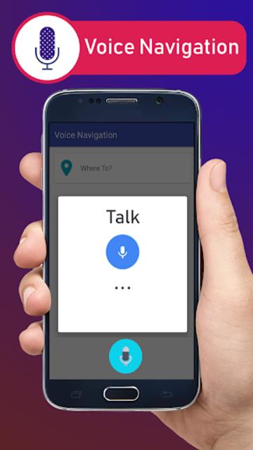 Voice GPS Driving Directions & Live Navigation screenshot 1