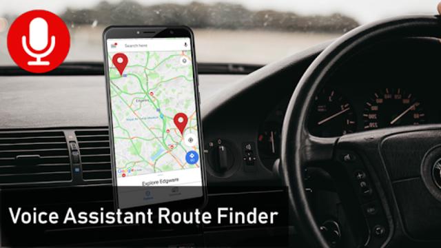 Voice GPS Driving Directions & Live Navigation screenshot 2