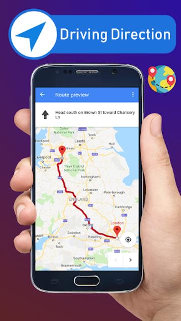 Voice GPS Driving Directions & Live Navigation screenshot 17