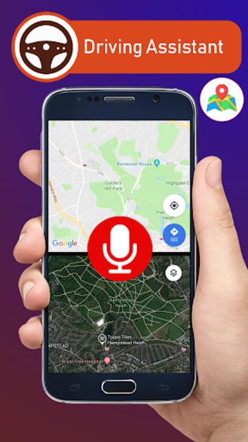 Voice GPS Driving Directions & Live Navigation screenshot 20