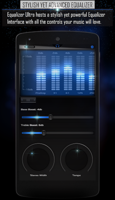 Equalizer Ultra Pro Unlocker screenshot 1