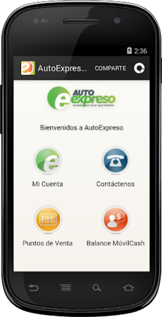 AutoExpreso Puerto Rico screenshot 1