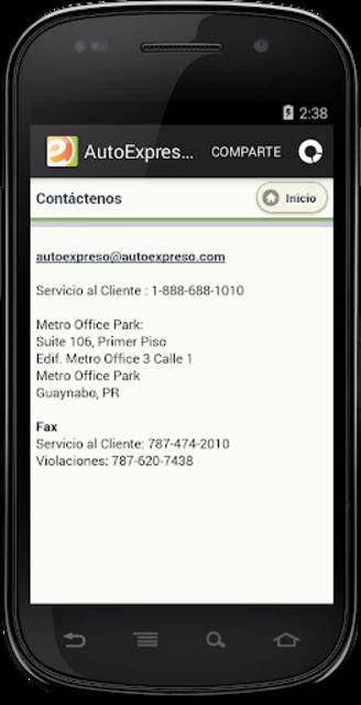 AutoExpreso Puerto Rico screenshot 4