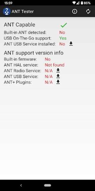 ANTtester screenshot 2