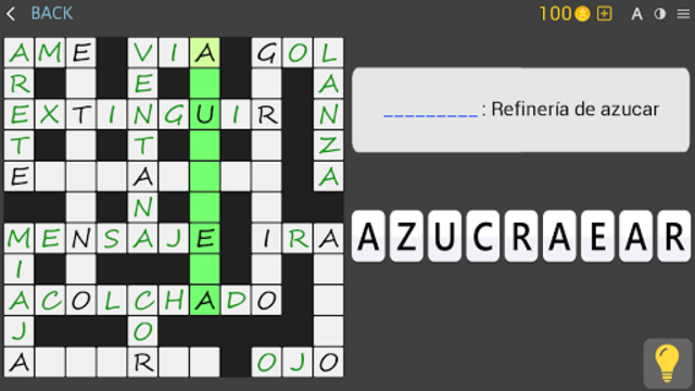 Crosswords - Spanish version (Crucigramas) screenshot 20