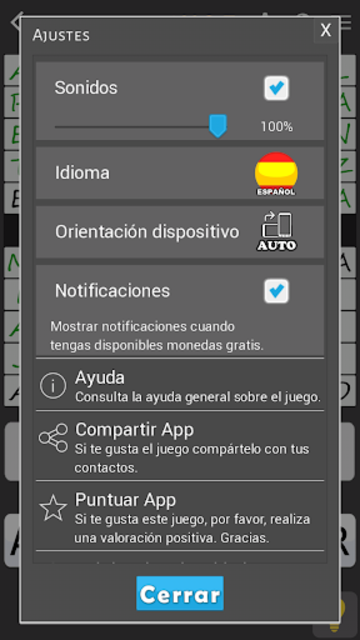 Crosswords - Spanish version (Crucigramas) screenshot 7