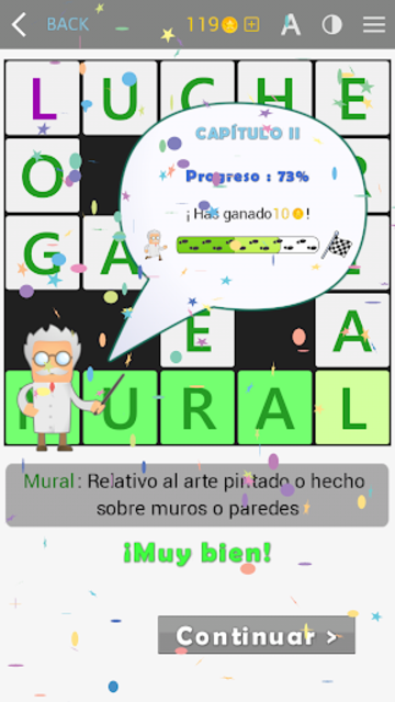 Crosswords - Spanish version (Crucigramas) screenshot 8
