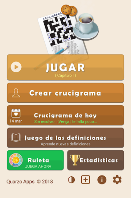 Crosswords - Spanish version (Crucigramas) screenshot 1