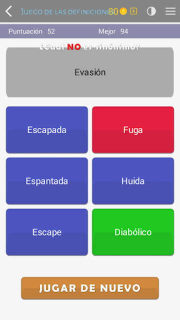 Crosswords - Spanish version (Crucigramas) screenshot 4