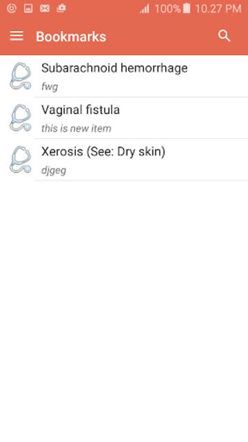 Disorder & Diseases Dictionary screenshot 8