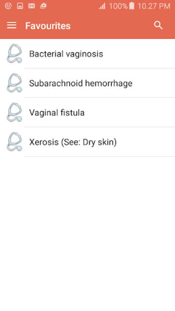 Disorder & Diseases Dictionary screenshot 6