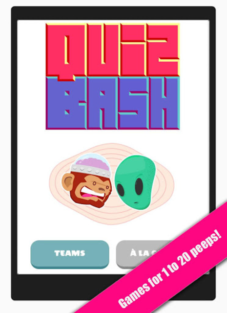 QuizBash - Party Games in Your Pocket! screenshot 1