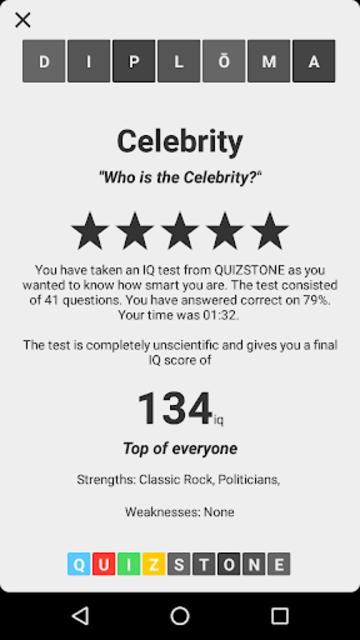 Celebrity Quiz screenshot 3