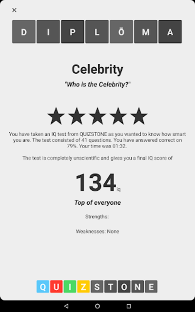 Celebrity Quiz screenshot 7