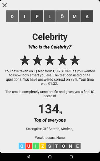 Celebrity Quiz screenshot 13