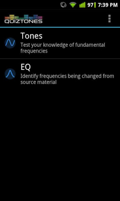 Quiztones Ear Training for EQ screenshot 1