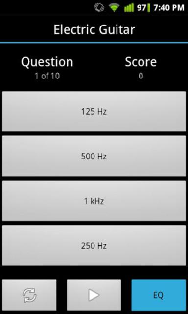 Quiztones Ear Training for EQ screenshot 3